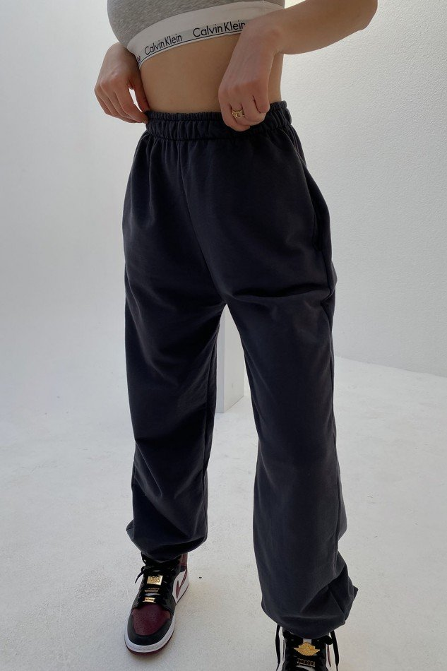 Dark Anthracite Rubber Trousers